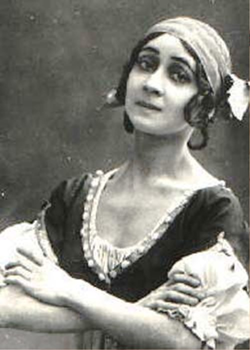 Beautiful Esmeralda, performed by Olga Spessivtseva