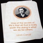 Happy birthday Lewis Carroll