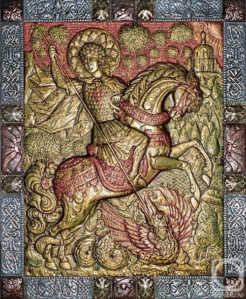 Saint George, fragment