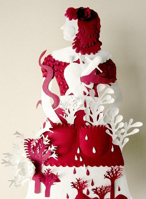 Unique and beautiful Paper art by American artist Elsa Mora