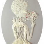 Beautiful Paper art by American artist Elsa Mora