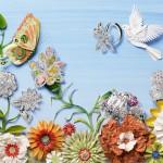 Paper cut art by American artist Jo Lynn Alcorn