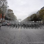U.S. Marines on the Champs Elysees – Paris, 2010