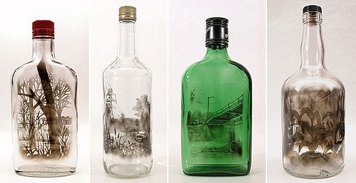Pictures in a bottle by Jim Dingilian