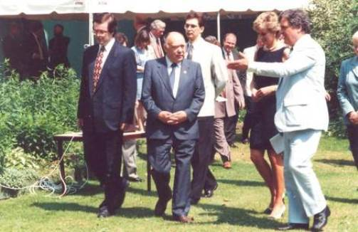 15 Jun 1995, Moscow, Russia. Lady Diana, Princess of Wales, on visit in Moscow.