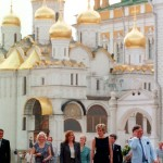 The Kremlin cathedral in Moscow. Lady Diana, Princess of Wales