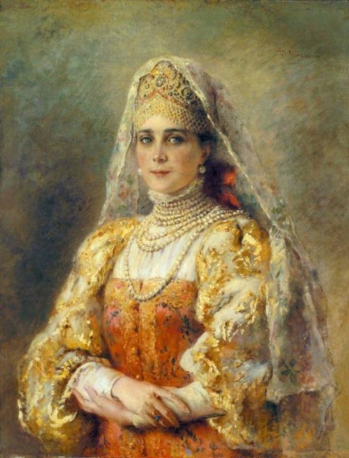 Beautiful Princess Zinaida Yusupova