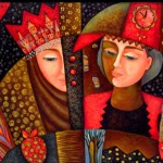 Decorative Painting by Russian artist Marina Hintse