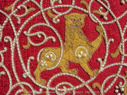 Russian Goldwork embroidery
