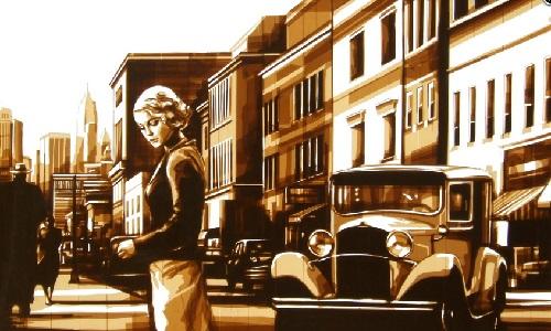 Artwork by Amsterdam based artist Max Zorn