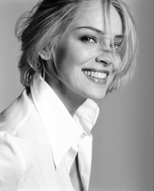 Beautiful actress Sharon Stone