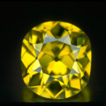 Named for the Smithsonian employee who helped facilitate the transaction, the 18.30-carat Shepard Diamond from South Africa. Acquired by the Smithsonian Museum by exchange for a collection of small diamonds that had been seized as smuggled goods by the United States Customs Service