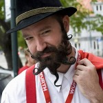 Beard design. The 2011 World Beard Mustache Championship in Trondheim, Norway