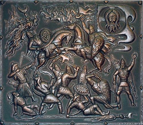 Metal art by Victor Morozov