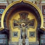 Work by artist Viktor Vasnetsov. The Crucifixion of Christ