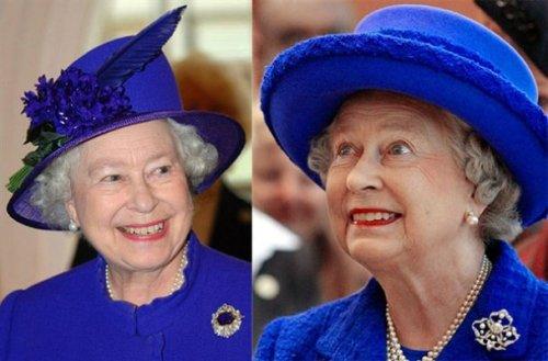 The Queen of hats Elizabeth II