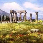 Tender paintings by Pantelis Zografos