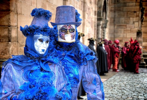 The history of Carnival in Venice and traditional Venetian masks. Mardi Gras means Fat Tuesday
