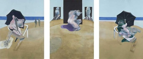 Triptych by the Irish painter Francis Bacon. Most Expensive sold Paintings