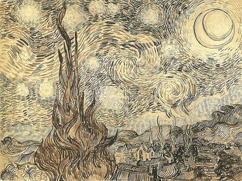Sketch Starry night