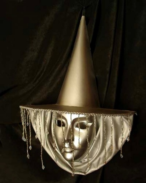 Brown Carnival Mask