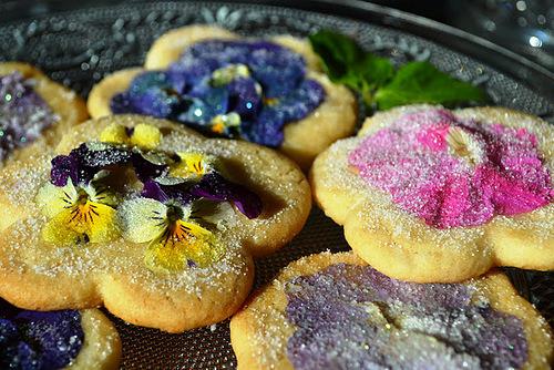Delicious Viola biscuits