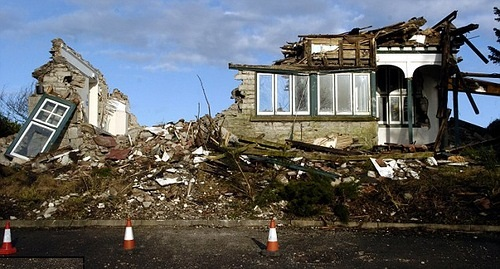 When a demolition team began work at a derelict Victorian guest house they all agreed that something didn't feel quite right