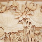 Chinese Wood carved paintings made by Dongyang craftsmen