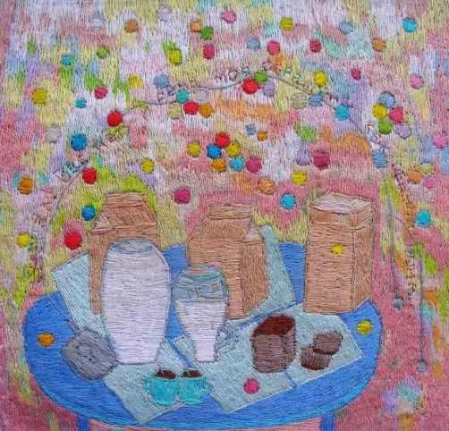 Fabulous embroidery by Zhanna Korznyakova