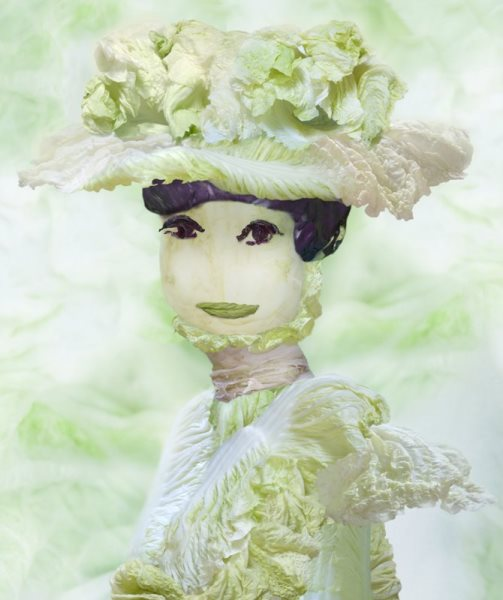 Beautiful cabbage Fantasies by Chinese artist Ju Duoqi