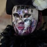 Cat inspired carnival mask