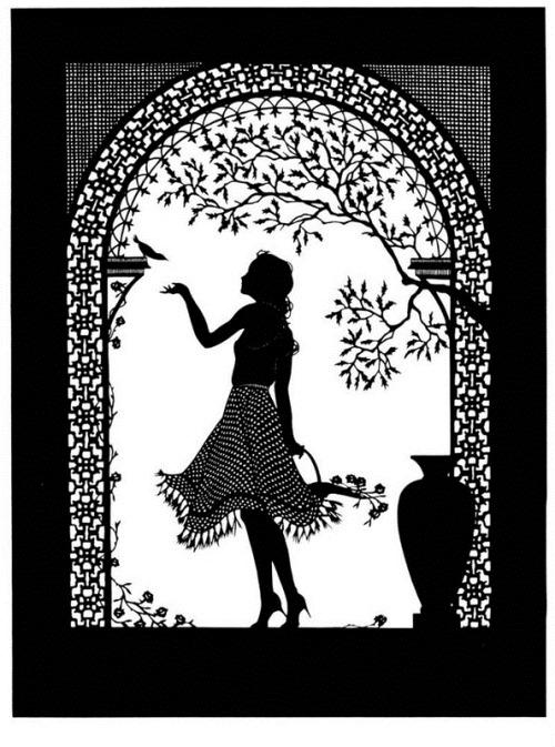 Paper cut art by Beth White