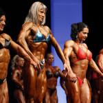 Beautiful women engaged in Female bodybuilding