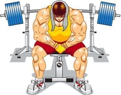 Drawing - Bodybuilding