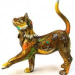 Bronze sculpture by Colombian artist Nano Lopez