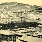 Retro photo of Vladivostok