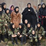 Beautiful Iranian women Ninja
