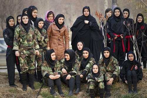 Iranian female Ninja