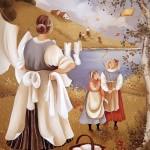 Painting by Croatian artist Rajka Kupesic