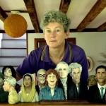 Karen Caldicott celebrities made of plasticine