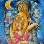 Beautiful Romantic paintings by Yuri Matsik