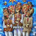Romantic painting by Russian artist Yuri Matsik
