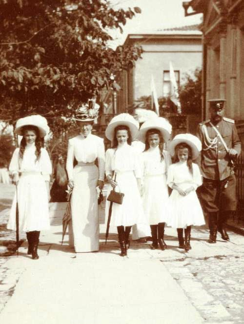 Early 20th century photograph of Russian Royal Family