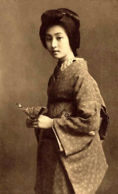 Retro pictures of Geisha