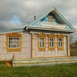 Wood lace country house by Konstantin Muratov