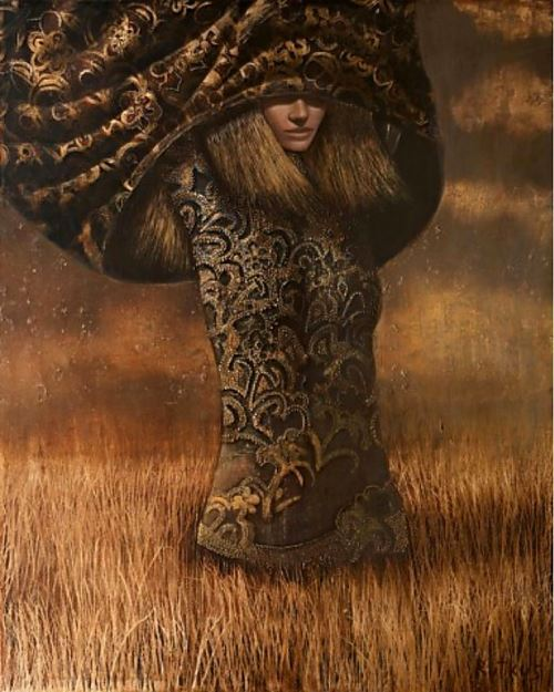 Surreal and beautiful painting by Lithuanian artist Arunas Rutkus