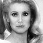 Catherine Deneuve black and white photos
