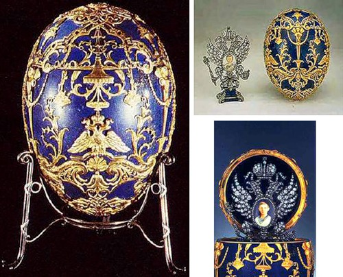 Imperial Faberge eggs