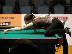 Anastasia Luppova - European Champion (twice) and a Russian Pyramid Billiard Champion