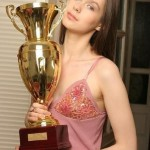Anastasia Luppova - European Champion (twice) and a Russian Pyramid Billiard Champion